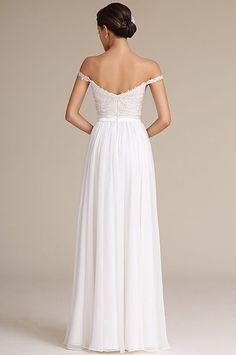 b0ce321c656b Svadobné šaty s ramienkami E00812 Večerné Šaty