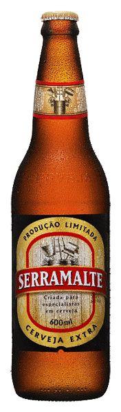 Serramalte, cerveja brasileira puro malte da cervejaria Ambev.