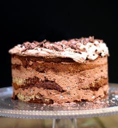Hämmentäjä: Gluten-free mint chocolate cake with sea salt. Merisuola-minttusuklaakakku (gluteeniton)