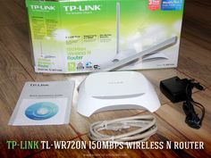 New TP-LINK TL-WR720N 150Mbps wireless N router