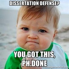 Dissertation Defense?