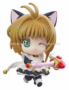 Anime Card Captor Cardcaptor Sakura Kinomotosakura Action Figure Toy Doll For Birthday Christmas Gifts Costume Props Costumes & Accessories