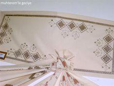 Muhterem'le Geziye: 2011 İSMEK FESHANE SERGİSİ-EL NAKIŞI 2.BÖLÜM Bargello, Roman Shades, Embroidery, Decor, Salons, Table, Table Runners, Needlepoint, Dressmaking