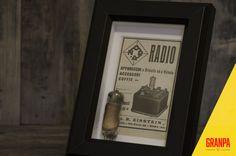 Illustrazione pubblicità primi '900 NORA RADIO con di GRANPAstudio