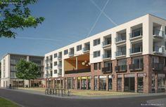 Appartementencomplex met winkels. (PG11); Bron: http://www.nieuwbouw-in-utrecht.nl/project/5591/wonen-in-terwijde-centrum/, geraadpleegd op 22 januari 2014