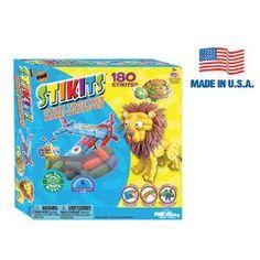 Stikits® 180pc. Set - 180 Stikits® for the intermediate builder. kids, play