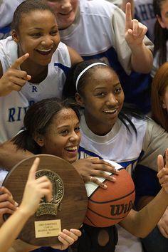 Go Blue Waves!  Congrats girls!