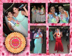 Venta de accesorios para fiesta: collares hawaianos de un color o mix de colores