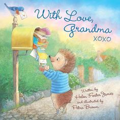 You can pre-order a copy of With Love Grandma now  @sleepingbearpress  #childrensbooks #illustration