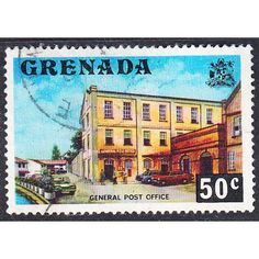 Grenada 1975 Local Motives - General Post Office 50c Used Listing in the Grenada,Grenada (up to 1974),Commonwealth & British Colonial,Stamps Category on eBid United Kingdom | 144735701