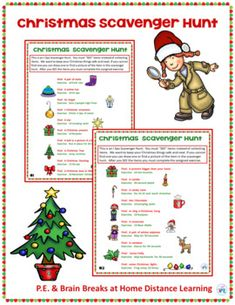 "This easy Indoor Scavenger Hunt activity is ""fun and exciting"" way to get kids up and moving. To keep your Christmas treasures safe this hunt is designed to be an ""I SEE"" hunt instead of a pick it up and collect it hunt. This is perfect for an at home distance learning activity. It is designed for..."