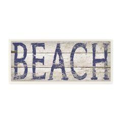 Birch Lane Distressed Beach Wall Plaque