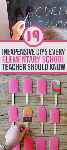 19 Ridiculously Simple DIYs Every Elementary School Teacher Should Know #handson #outofthebox #learningactivities