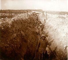 Soldats allemands prisonniers - (Le mont Cornillet)