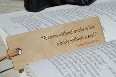 Wood Bookmark, Gift for readers, Engraved gift, Custom bookmark, Engraved Bookmark, Gift for him, Gift for her, Bookmark by etoidesign on Etsy