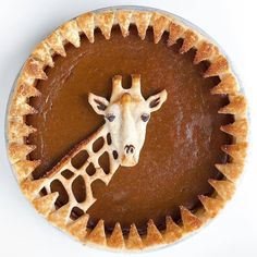 Cute giraffe pumpkin pie, how novel, with sawtooth trim Cute giraffe pumpkin pie, how novel, with sawtooth trim Related posts: Try This Pumpkin Pie Cupcakes Impossible Pumpkin Pie Cupcakes Köstliche Desserts, Delicious Desserts, Dessert Recipes, Yummy Food, Dessert Food, Pastel Art, Cupcakes, Cupcake Cakes, Pie Crust Designs