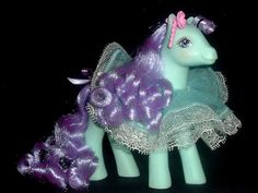 VINTAGE My Little Pony 1988 DAISEY DANCER & DRESS MINT! PROM QUEEN VERY PRETTY | eBay