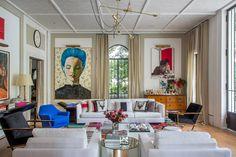 Decoração sala de estar e living, por Paola Ribeiro. Um tour virtual pela Casa Cor RJ tá lá no blog. Confira!