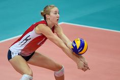 Q&A with Team USA's Kim Hill! #OffTheCourt #Volleyball  Read Here: http://www.teamusa.org/USA-Volleyball/Features/2014/November/03/Off-the-Court-With-Kim-Hill   usavolleyball.org | @USAVolleyball (Photo Credit: @FIVBVolleyball)