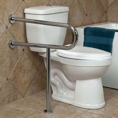 Finding the best home can be seen in the Bathroom Grab Bar arrangement Style from the home. This room is one of the main rooms which has important fun... Bathroom Furniture Design, Grab Bars In Bathroom, Amazing Bathrooms, Your Space, Home Goods, Cool Designs, Fun, House, Style