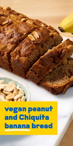 A quick and easy banana loaf that makes the perfect vegan option for any afternoon tea. Banana Nut Bread, Banana Bread Recipes, Vegan Options, Cake Batter, Cake Pans, No Bake Cake, Afternoon Tea, Bananas, Choices