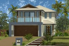 GJ Home Designs: Jindalee - Facade Option 1. Visit www.localbuilders.com.au/builders_nsw.htm to find your ideal home design in New South Wales