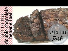 If there is any union that is delectable to the palate, it is probably bananas and chocolate. Cocoa and chocolate chips take this banana bread to a whole new. Chocolate Banana Bread, Chocolate Lovers, Chocolate Chips, Overripe Bananas, Quick Bread Recipes, Recipe Please, The Dish, Cocoa, Ice Cream