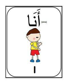 Arabic Pronouns flash cards