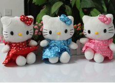 High-quality-18cm-Plush-toys-Hello-kitty-doll-Pink-Stuffed-KT-cat-pink-veil-dress-doll.jpg (671×487)