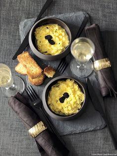 Oeufs brouillés à la truffe noire. Truffe fraiche Maison Baumont http://www.maisonbaumont.fr/