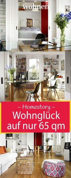 Wenig Raum, viele Ideen: Nach diesem Motto handelte das Bauherrenpaar unserer Homestory, das eine nur 65 Quadratmeter große Wohnung über der Elbe kaufte.