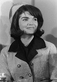 Jackie O - A beautiful and strong woman.  Still in the suit she held her husband as he died in her arms