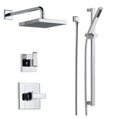 Attrayant Shop For The Delta Brilliance Stainless Monitor 14 Series Single Function  Pressure Balanced Shower System With Shower Head, And Hand Shower    Includes ...