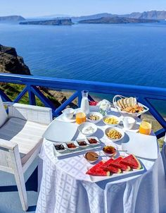 Breakfasting in Greece, what a view! Stay Cla$$y ♛LadyLuxury♛