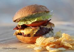 Classic Steakhouse Burger - Udi's Giveaway!!  Gluten Free