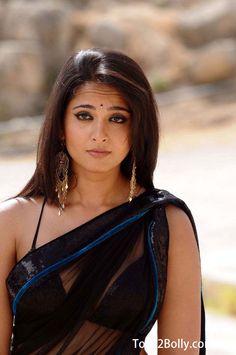Anushka in Black Sari