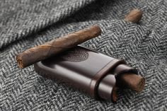 """Hand rolled cigars, like this Toscano Ammezzato (literally """"cut in half""""), have been part of the Tuscan country life style for centuries. © Manifatture Sigaro Toscano"""