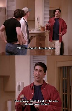Ross really came off second best in his divorce with Carol - the divorce that started the rest of them lol