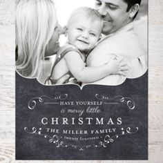 Let Your Heart Be Light - Photo Christmas Card Template (no. 118) - Instant Download