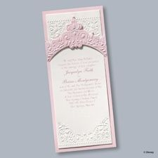 Princess Dreams Invitation - Aurora #confetticonnection #fairytalewedding #disneywedding