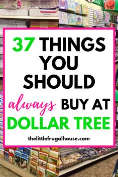 Save money and time by shopping at Dollar Tree! Check out this list of 37 things you should always buy at Dollar Tree to make sure you get the good deals! budgeting 37 Things You Should Always Buy at Dollar Tree Save Money On Groceries, Ways To Save Money, Money Tips, Money Saving Tips, Money Saving Hacks, Living On A Budget, Frugal Living Tips, Frugal Tips, Debt Free Living