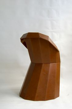 Martino Gamper Arnold Circus Chair 2007 Wooden frame, leather cover. Limited series of 15 examples. Nilufar Edition