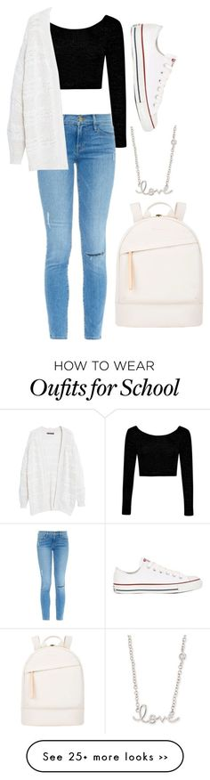School by r-redstall on Polyvore