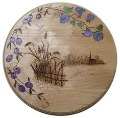 pyrography in the house | think it is very nice and so different from the stuff I do. I'd love ...