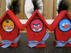 Craft idea for angry birds party?