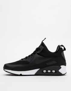 The Nike Air Max 90 SneakerBoot, featuring the groundbreaking Air Max 90's sense of speed with an internal neoprene collar that holds and protects the ankle for warmth and support without restriction. Fewer stitched panels for a clean, modern look, with a