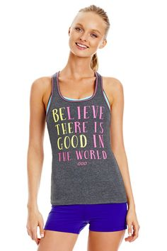 Be the Good Tank - Just Landed