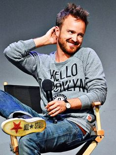 Aaron Paul and his *adorable* face