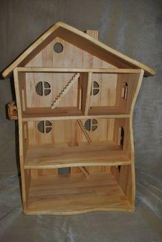 Dollhouse - Handmade wooden DollHouse - Big doll house - dollhouses - wood dollhouse