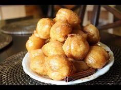 YiaYia's Loukoumathes - Yummy Greek Honey puffs! - YouTube